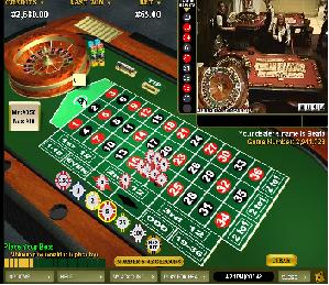 A Live roulette game streamed to Dublinbet site